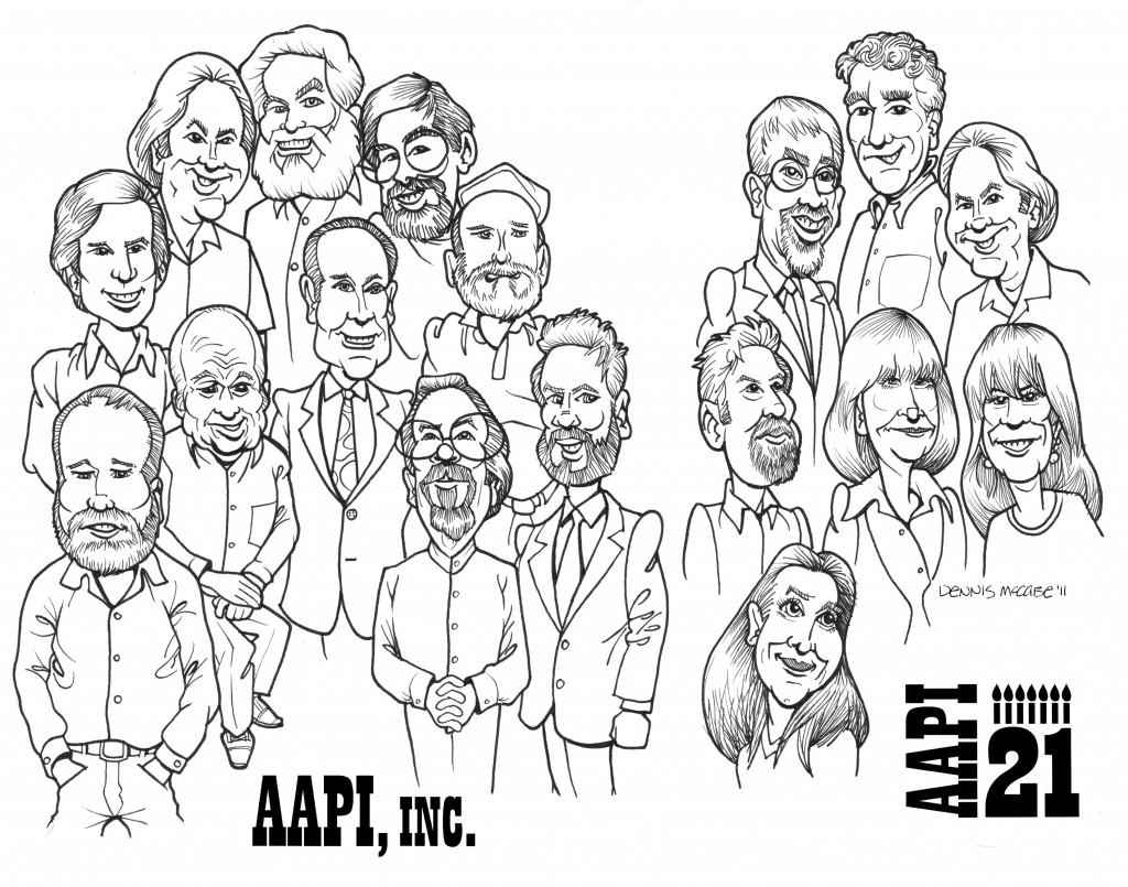 AAPI Caricature 2011