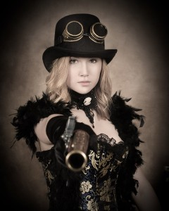 17 - Best Steam Punk Themed Portrait ~ Kylie Lynn Brownells, Allways Antique Photo