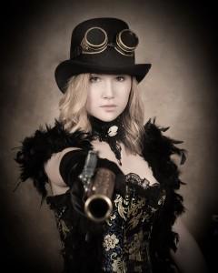 17 - Best Steam Punk Themed Portrait ~ Kylie Lynn Brownells, Allways Antique Photo