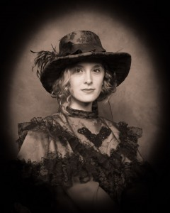 2 - Best Portrait of a Woman ~ Natasha Barriger, Doc Wenzel's Old Time Portraits