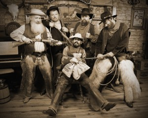 7 - Best Group Portrait (4 to 9 people) ~ Staff of Judge Roy Bean's Old Time Photos